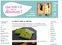 Blog Que reste-t-il de nos divorces ?. Publié le 05/05/11. Blogs.